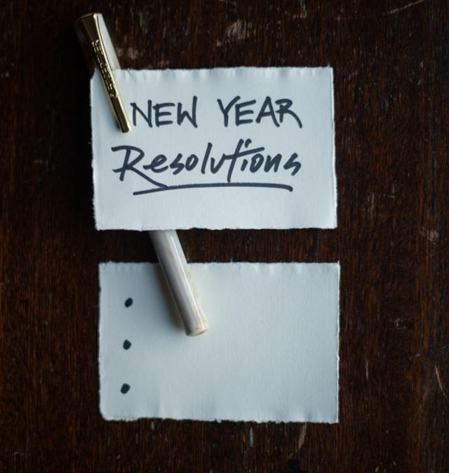 Keeping the New Year's Resolutions Throughout the Year